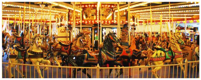 The Seaside Heights Carousel IMAGE CREDIT casinopiernj.com