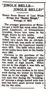 sleigh in snow, New Era, Feb 8, 1934, p3