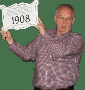 Bill McD and plaque (Copy)