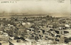 CAMDEN, NJ RPPC #1 1909