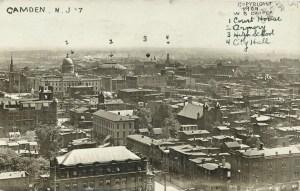 CAMDEN, NJ RPPC #7 1909