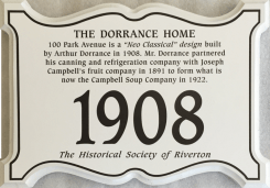 Dorrance 100 Park Ave plaque (Copy)