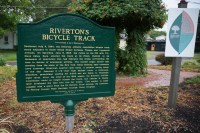 Riverton Bicycle Track sign
