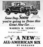 Oakland car ad, New Era, Jan 24, 1929
