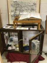 original 1890 Bird's Eye view of Riverton and Lippincott family Bible