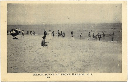 Beach scene at Stone Harbor, NJ 1282