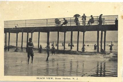 Beach view, Stone Harbor, NJ