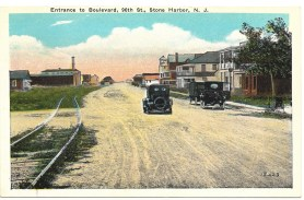 Entrance to Boulevard, 96th St., Stone Harbor, NJ