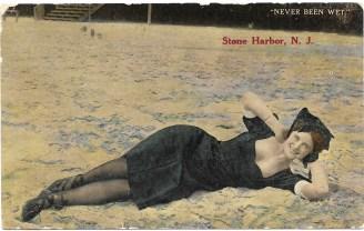 Never been wet, Stone Harbor, NJ