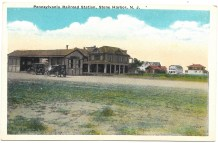 Pennsylvania Railroad Station, Stone Harbor, NJ