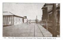 The Abla Apartments and Municipal Pier Theater, Stone Harbor, NJ