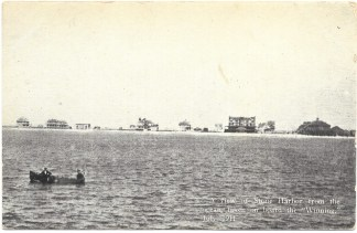 View from ocean - July 1911