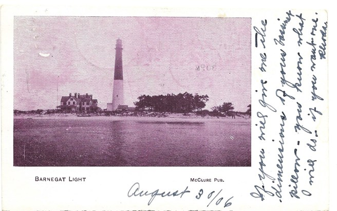 Barnegat Light, Aug. 30, 1906