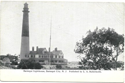 Barnegat Lighthouse, L.A. Butterworth, pub.