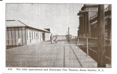Alba Apartments and Municipal Pier Theatre
