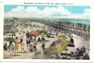 Boardwalk and Beach at 96th St.