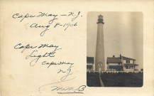 Cape May Light, 1906