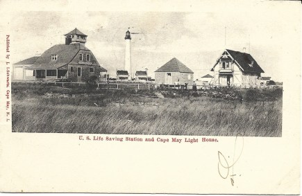 U.S. Life Saving Station and Cape May Light House