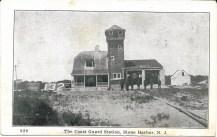 The Coast Guard Station, Stone Harbor, N.J., postmark Aug. 20, 1925