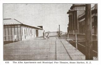 Alba Apartments and Municipal Pier Theater, Stone Harbor, NJ