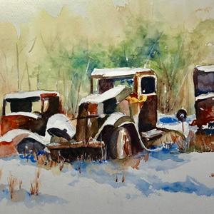 Old Cars Nancy Sackrison