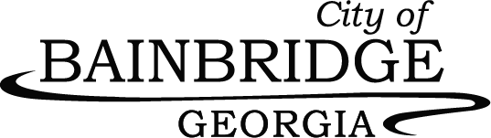 City of Bainbridge Georgia logo-black