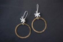 metalsmithing earrings