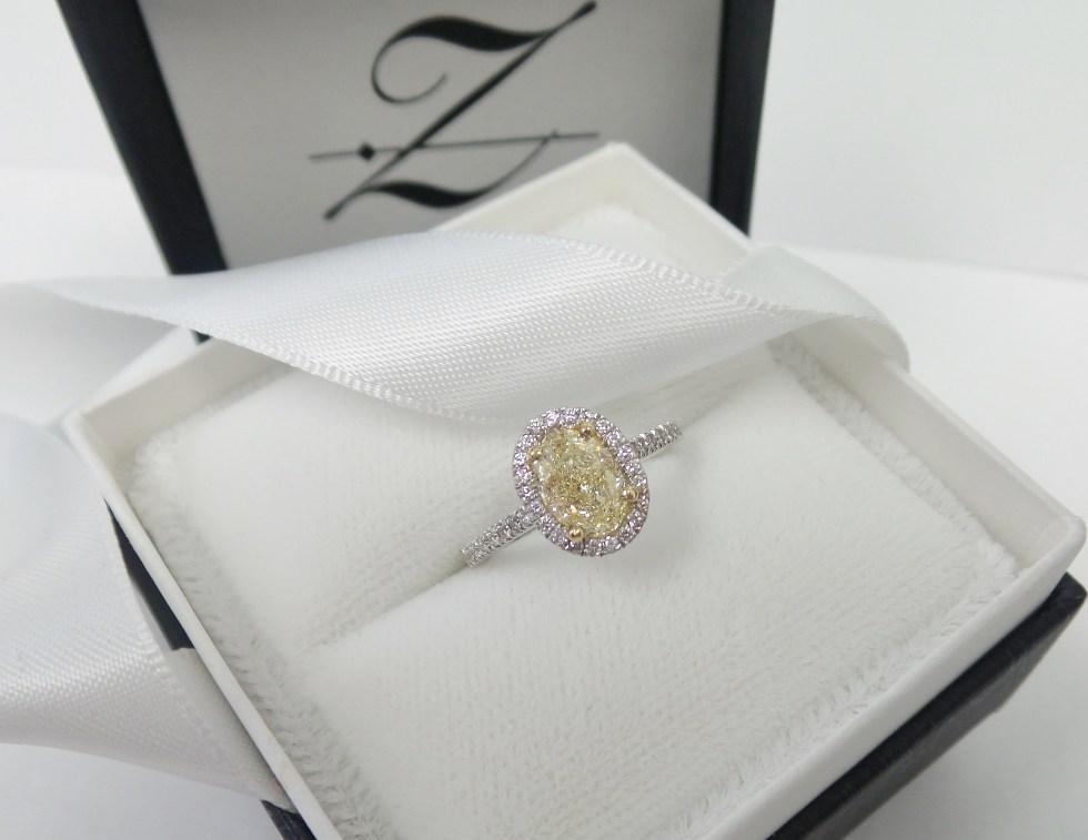 Yellow Diamond from Tracy Zeller Jewelry