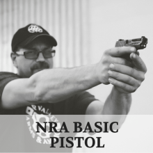 NRA Basic Pistol Course