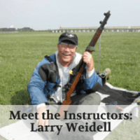 Meet the Instructors- Larry Weidell
