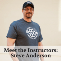 Meet the Instructors- Steve Anderson