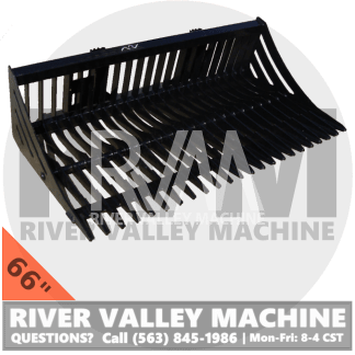 RVM® HD | River Valley Machine Heavy-Duty 60″ Skeleton Bucket