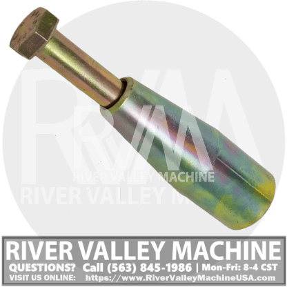 Tapered Pivot Pin for Loader Arm @ RVM, LLC | River Valley Machine
