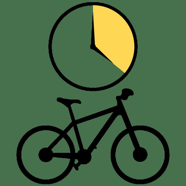 Bike Rental Full Day Icon