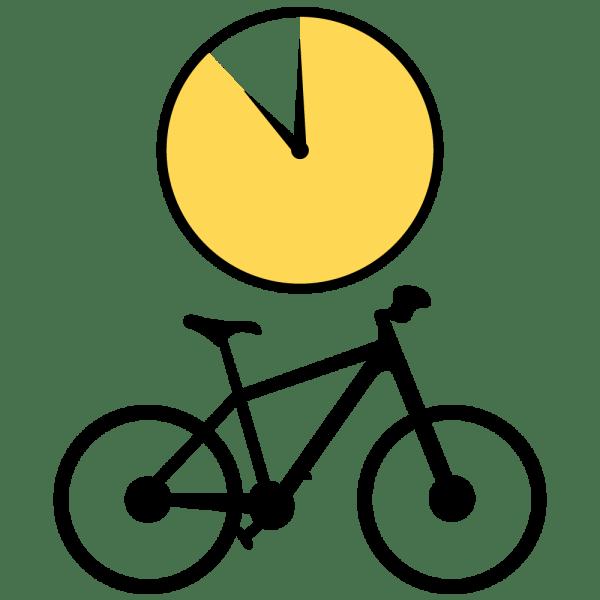Bike Rental Weekend Icon