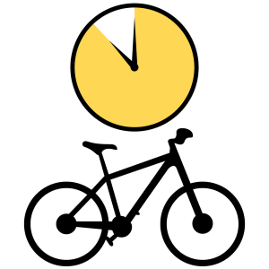 Bike Rental Weekend Icon