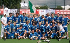 Italian National Team - World Championships Manchester 2010 (Head Coach - Pete DeLisser)