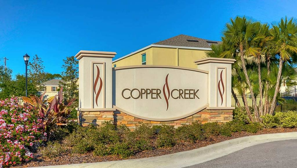 Copper Creek Subdivision Riverview Florida New Town Homes Community