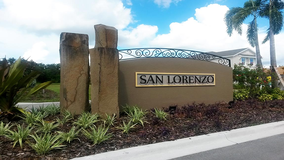 San Lorenzo Bradenton Florida New Homes Community