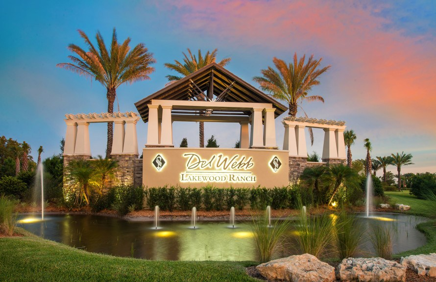 Active Adults 55+ in Lakewood Ranch Florida New Homes Community