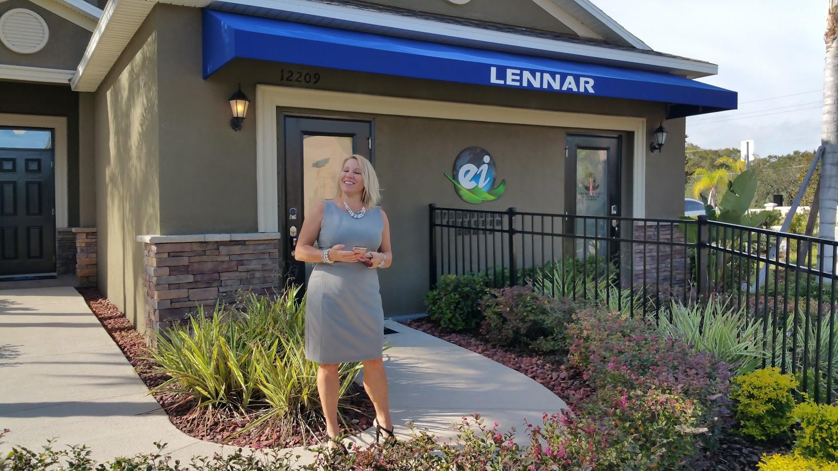 Kim Chirst Kanatzar Selling New Golf Cource Homes In Lakewood Ranch Florida