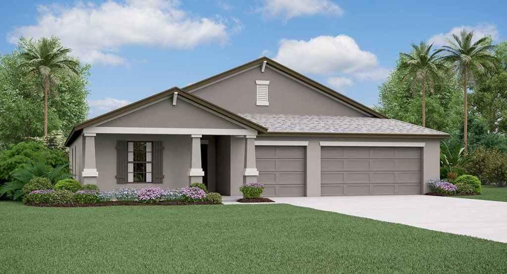 South Fork Lakes: The Santa Fe Lennar Homes Riverview Florida New Homes Community