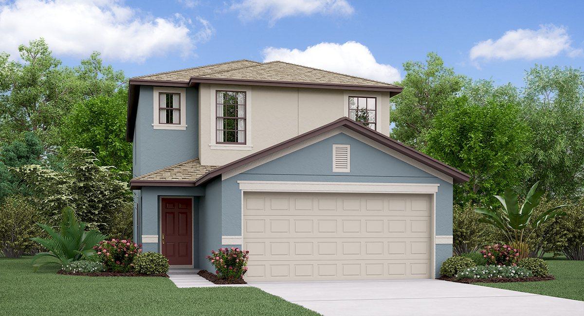 The Vanderbilt Model By Lennar Homes | New Homes for Sale | Riverview Florida & Tampa Florida