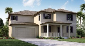 The Brandywine Model Tour Lennar Homes Riverview Florida