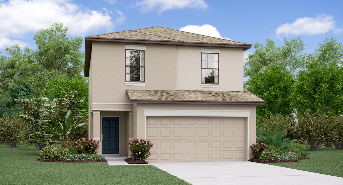 The Madrid II Touchstone Community By Lennar Homes Tampa Florida Real Estate | Tampa Florida Realtor | New Homes for Sale | Tampa Florida