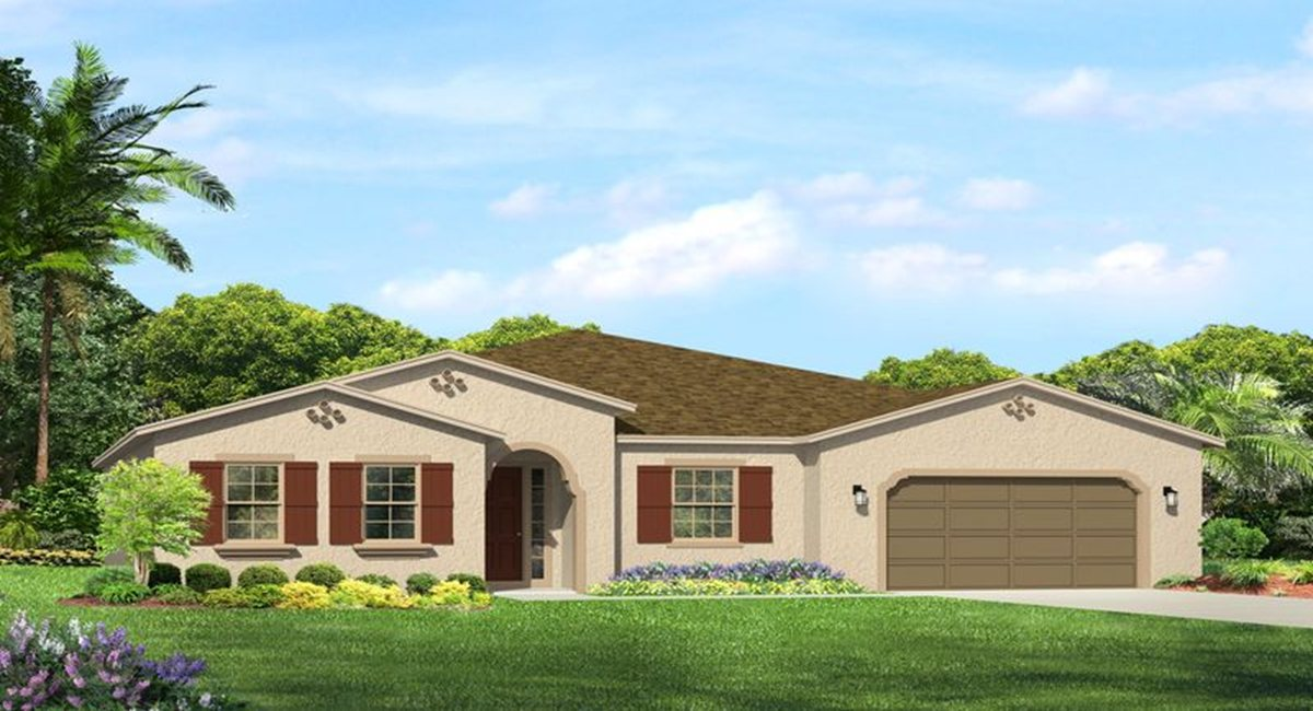 The Claybourne Model Lennar/WCI Homes Tampa Florida Real Estate | Ruskin Florida Realtor | Palmetto New Homes for Sale | Wesley Chapel Florida