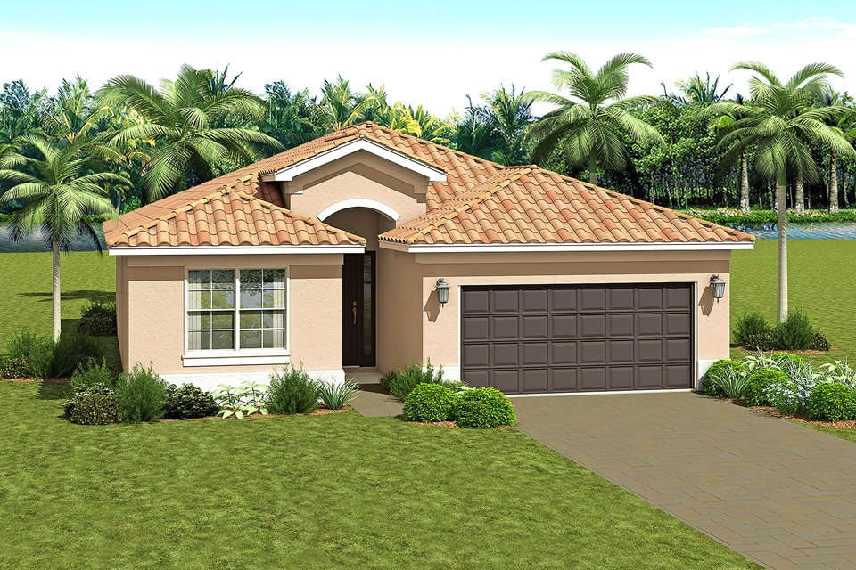 The Bella Model Home   The Vintage Collection at Valencia del Sol in Tampa, Florida