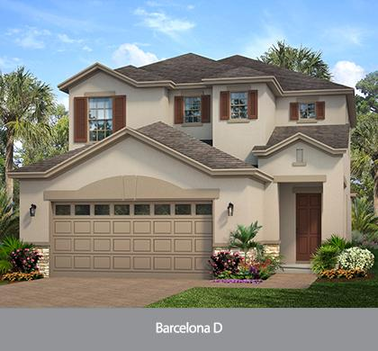 The Barcelona (WT) | Park Square Homes | WaterSet Apollo Beach Florida Real Estate | Apollo Beach Realtor | New Homes for Sale | Apollo Beach