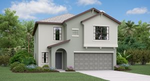 Boston | 2 Story | 5 Bed | Loft | 2.5 Bath | 2 Car  | 2215 SQ | Tampa Florida