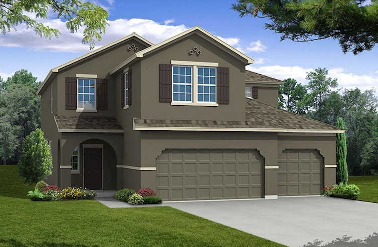 The Captiva | Beazer Homes | The Reserve at Pradera Riverview Florida Real Estate | Riverview Realtor | New Homes for Sale | Riverview Florida